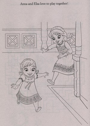 Official ফ্রোজেন Illustrations (Coloring Pages)