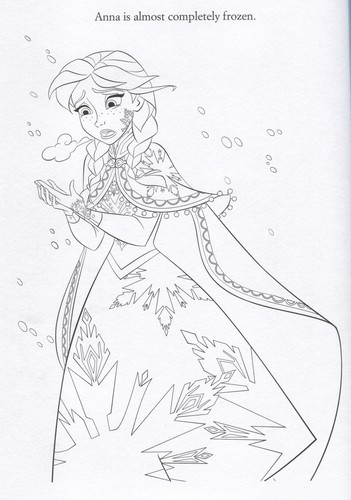 Frozen wallpaper possibly with anime titled Official Frozen Illustrations (Coloring Pages)