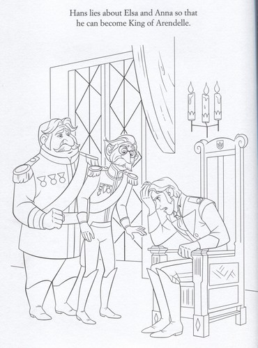 Frozen kertas dinding possibly with Anime titled Official Frozen Illustrations (Coloring Pages)