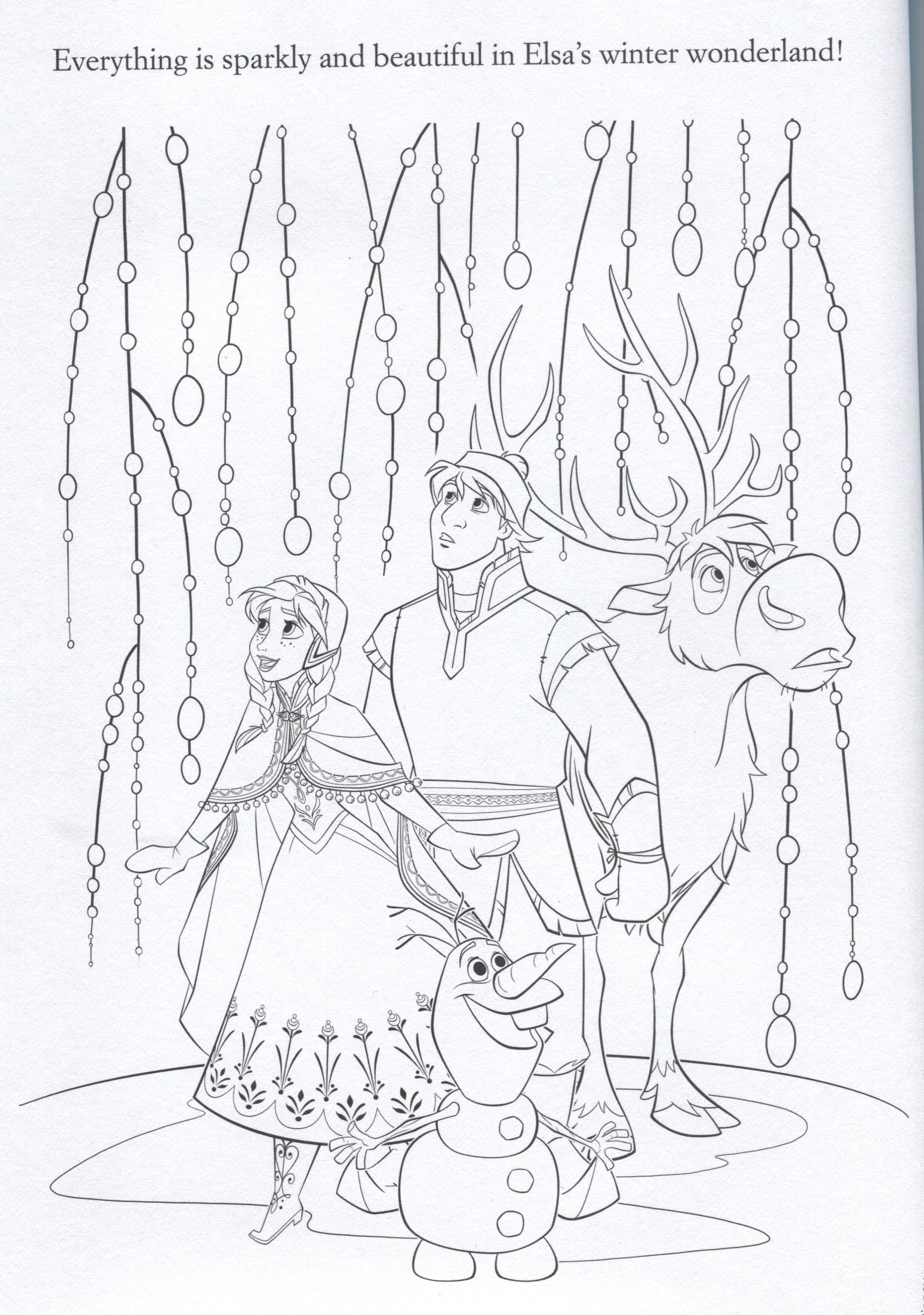 Frozen Elsa Coronation Coloring Pages Coloring Pages