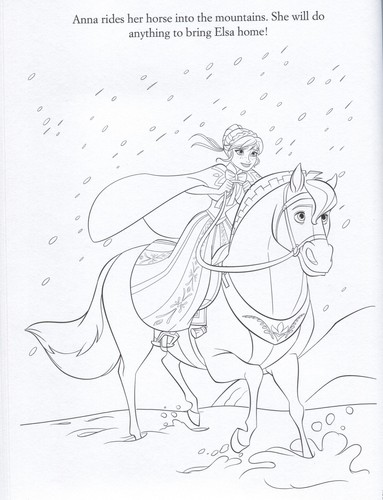 Frozen kertas dinding with Anime titled Official Frozen Illustrations (Coloring Pages)