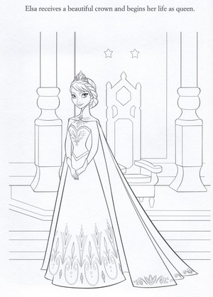 Official Frozen - Uma Aventura Congelante Illustrations (Coloring Pages)