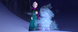 Creating Olaf - Let It Go Screencap