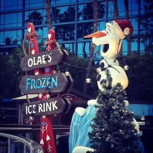 Olaf's Ice Rink