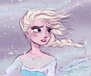 Elsa 粉丝 Art