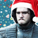 Jon- Christmas - game-of-thrones icon