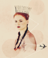 Queen Sansa - game-of-thrones fan art