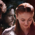Robb & Sansa - game-of-thrones fan art