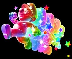 pelangi, rainbow mario
