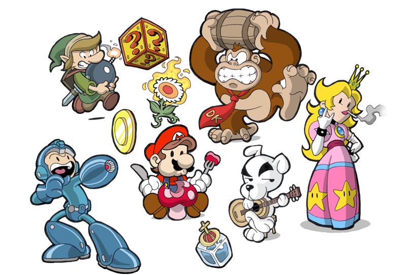 Games Images Video Game Characters Hd Wallpaper And