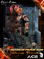 "Calvin's Custom one sixth scale GEARS OF PEACE MKIII ""Orange Revolt"" figure - gears-of-war photo"
