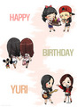 Happy Birthday Kwon Yuri! - girls-generation-snsd fan art