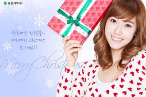 SNSD Jessica 圣诞节 照片