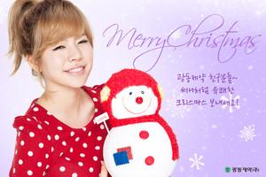 SNSD Sunny 圣诞节 照片