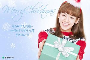 SNSD Hyoyeon クリスマス 写真