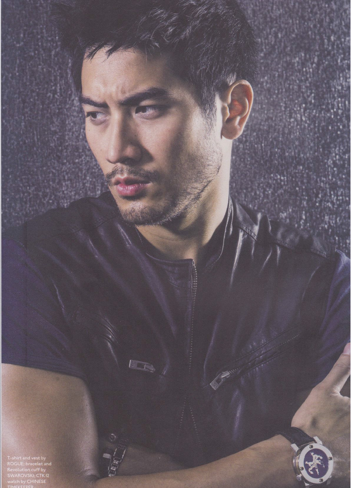 Godfrey for 'Watch This Space Magazine' - Godfrey Gao ...