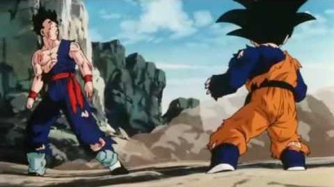Anime wolpeyper entitled Gohan & Goten
