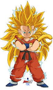 dragonball Goku ssj 3