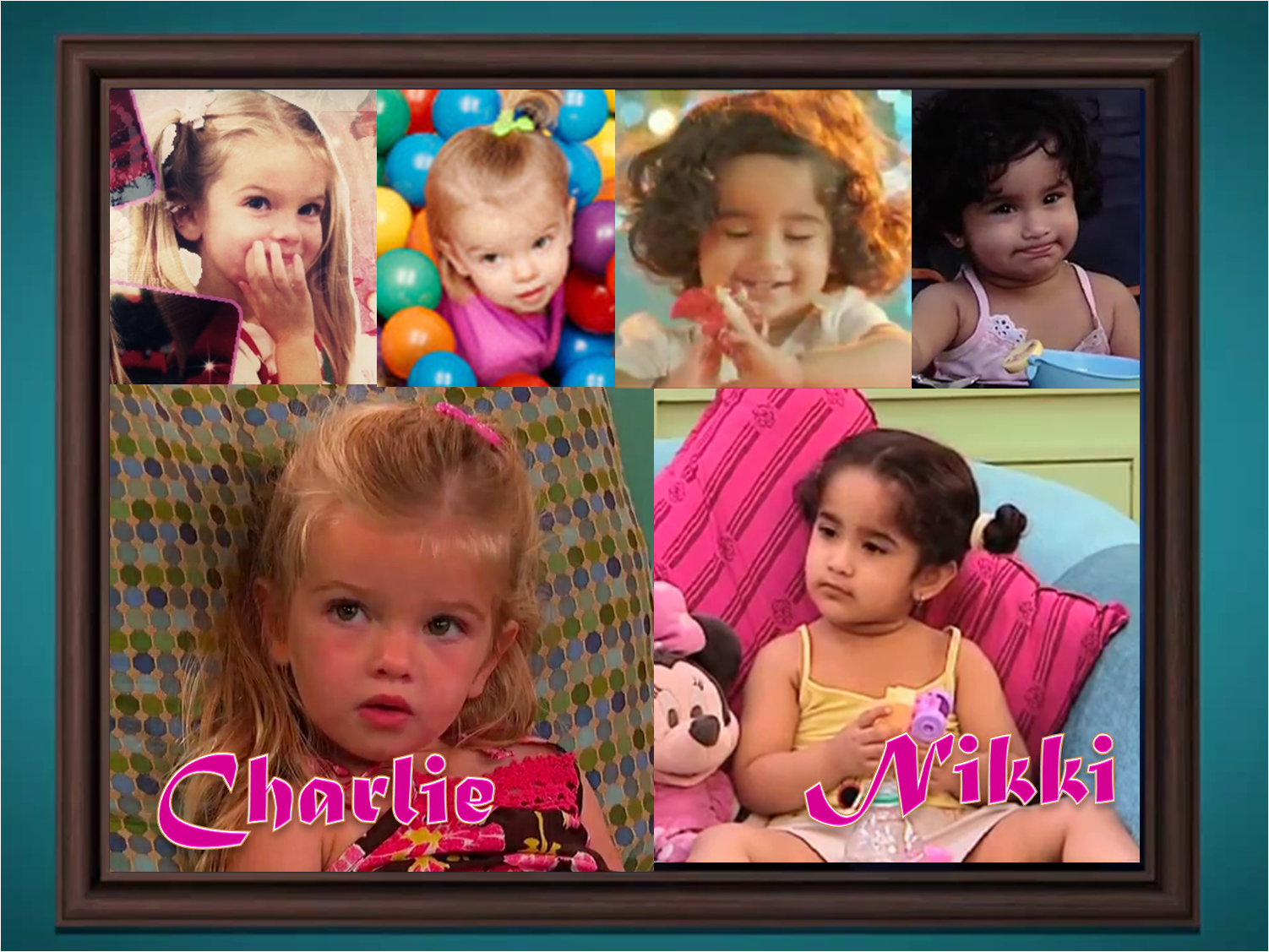 cute শিশুরা from good luck charlie and best of luck nikki