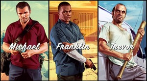 The Three Characters of GTA V