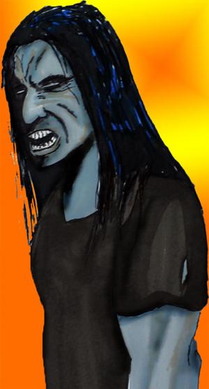 Zombie not happy