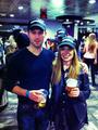 Jonathan Keltz and Celina Sinden