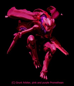 Promethean of Atlantis pink / Purple (Halo 4)