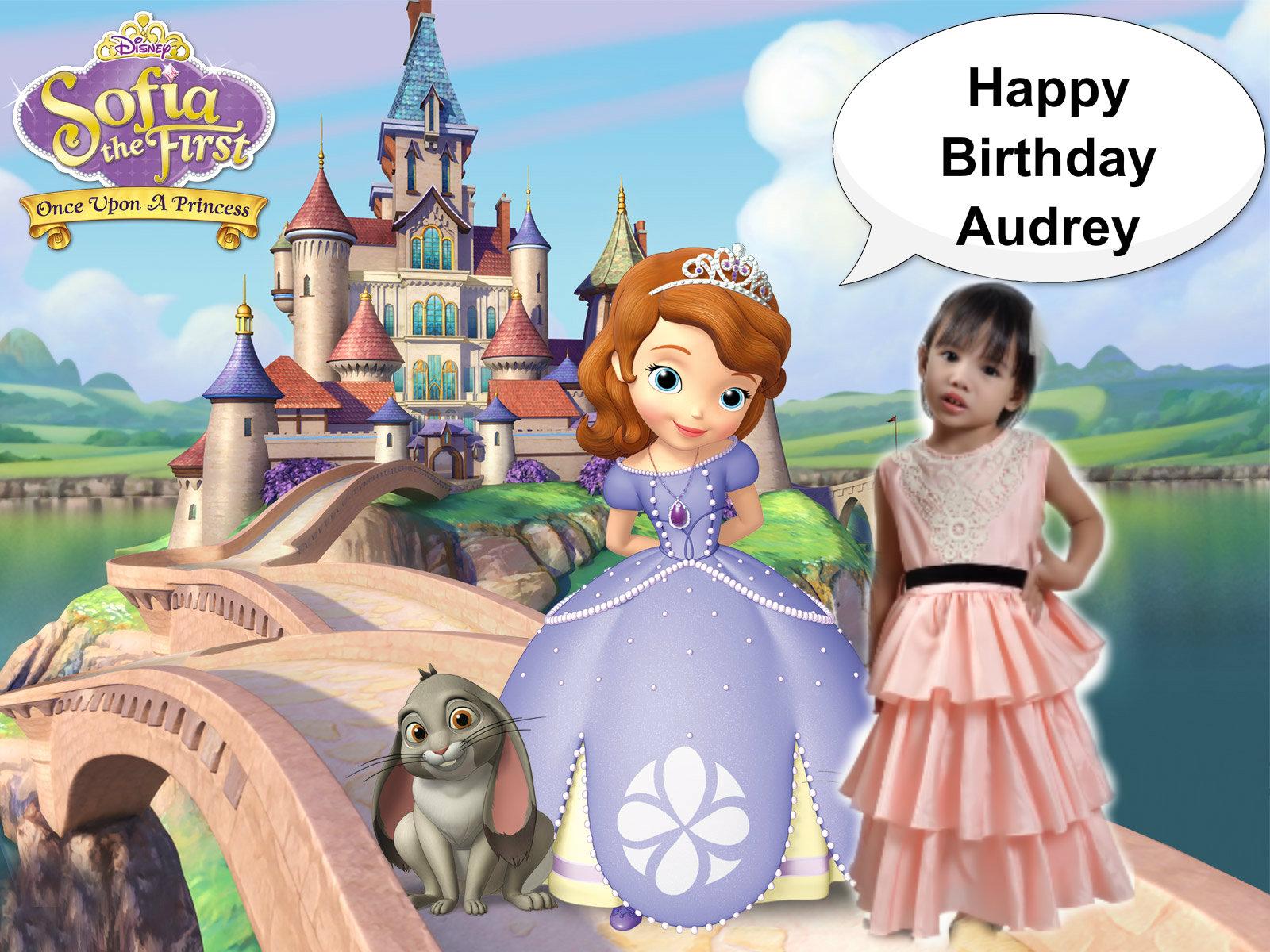 Happy Birthday Audrey Sofia The First Fan Art 36291691