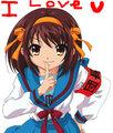 Haruhi Suzumiya i still cinta anda