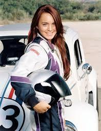 Herbie with Lindsey Lohan