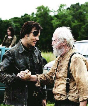 Scott Wilson and David Morrissey