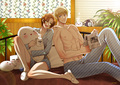 Enjoying our time together - hetalia-gerita photo