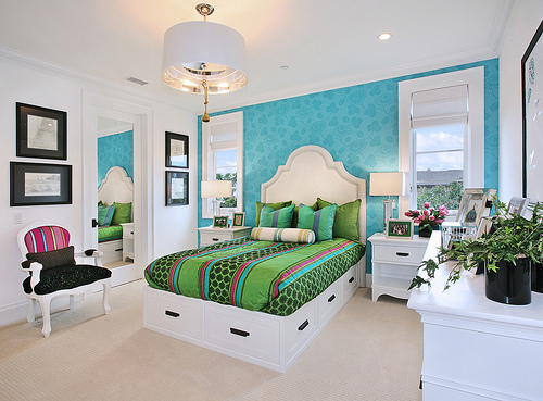 Главная Decorating Обои containing a hotel room, a bedroom, and a twin постель, кровати titled Главная decorating