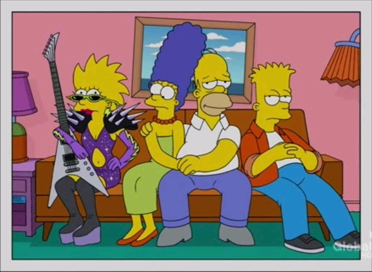 gender roles in the simpsons