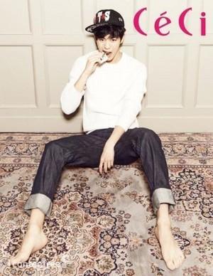 Hongbin 'CeCi' Magazine for January 2014 Issue