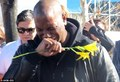 Tyrese Gibson in tears at Paul Walker's crash site - hottest-actors photo
