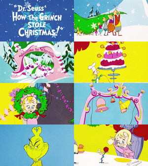 How The Grinch украл, палантин Рождество