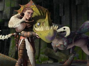 Cate Blanchett as Valka in HTTYD 2