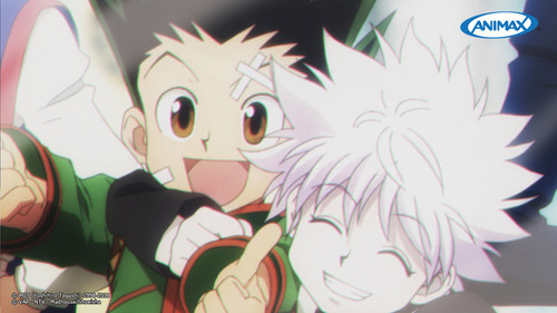 hunter x hunter wallpaper titled gon x killua