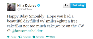 tweet Ian's Bday