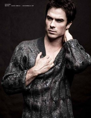 Ian Somerhalder for Annex Man Magazine issue Charles (2013).