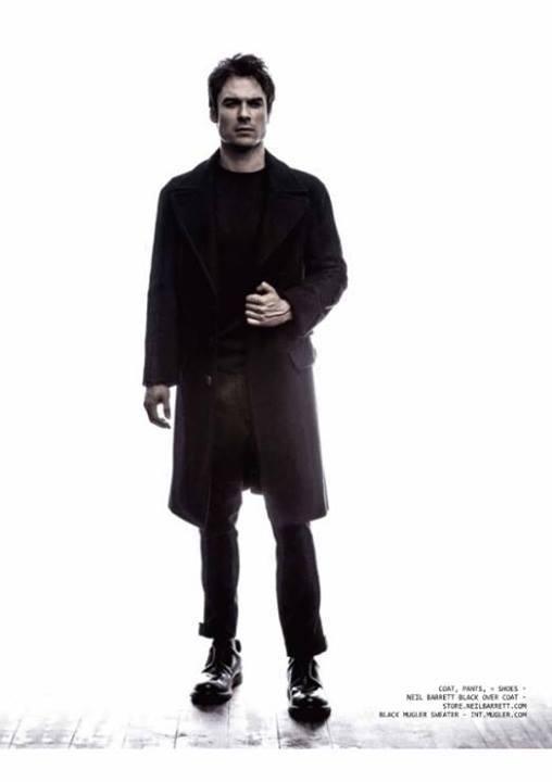 Ian Somerhalder for Annex Man Magazine issue Charles (2013).