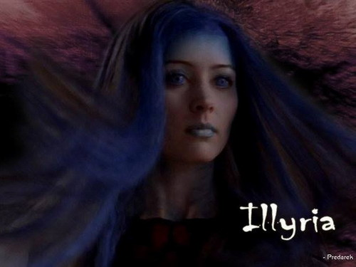 Illyria wallpaper probably containing a portrait called Illyria