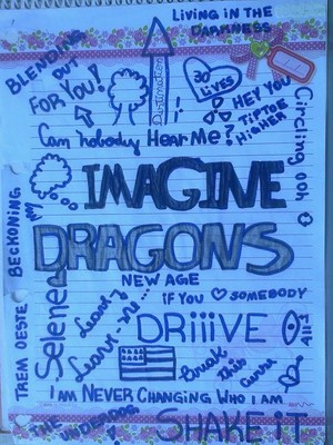 Imagine dragons fan-art