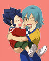 Inazuma {Kariya and Tsurugi}