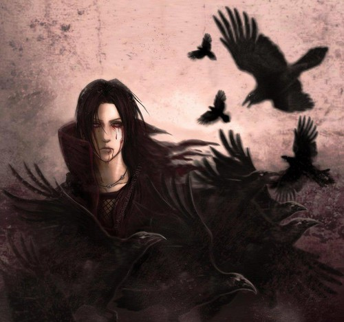 Itachi Uchiha Wallpaper Entitled Crows 2