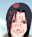 itachi keep calm - itachi-uchiha fan art
