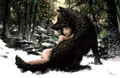 Naked wolf - jacob-black-and-renesmee-cullen photo