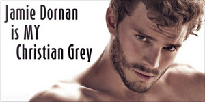 Jamie Dornan is MY Christian Grey