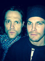 Jared And Stephen  - jared-padalecki photo